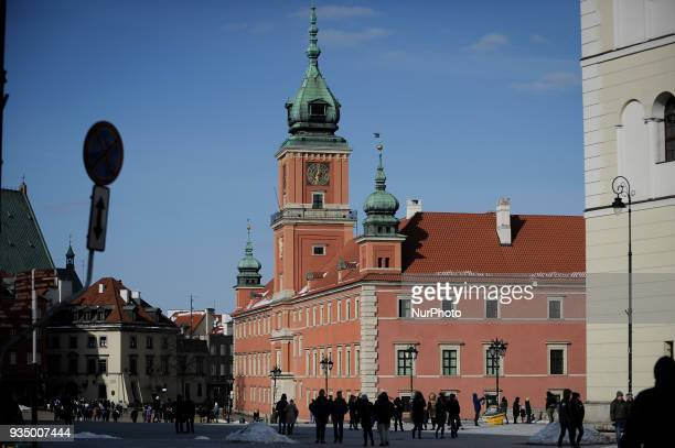 The Royal Palace is seen in Warsaw Poland on March 17 2018