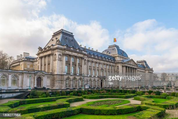 """the royal palace of brussels the official palace of the king and queen of belgium - """"sjoerd van der wal"""" or """"sjo"""" stock pictures, royalty-free photos & images"""