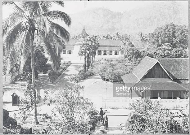 The Royal Palace of Laos and residence of His Majesty Sisavong Vong at Luang Pruang   Location Luang Prabang Laos