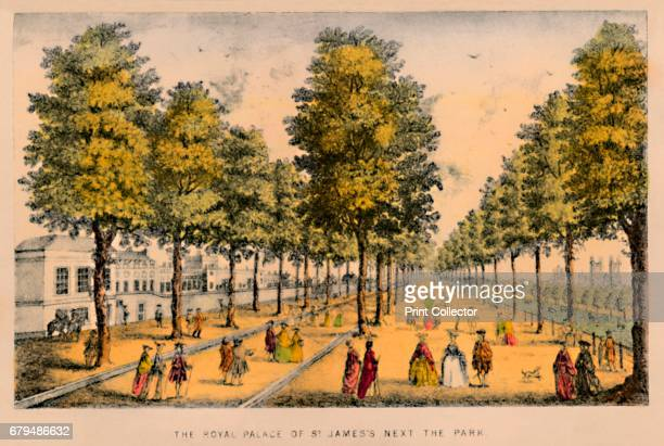 The Royal Palace of St. James's Next The Park', c1870. St James's Park is a 23-hectare park in the City of Westminster, central London. St James's...