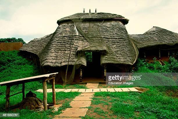 The royal palace of the Yoruba King of Ketou. Benin, West Africa.
