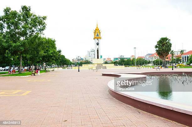The Royal Palace, Park Phnom Penh, Cambodia