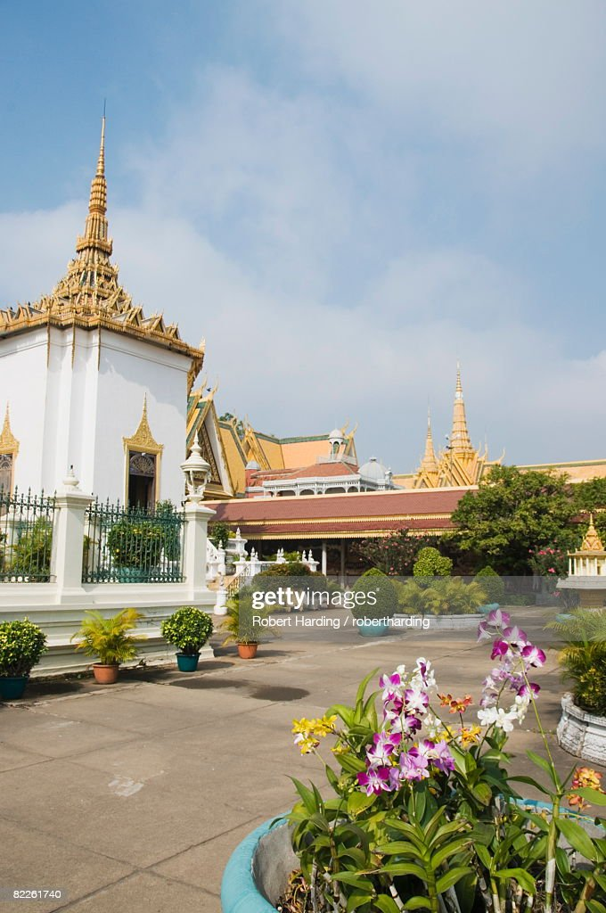 The Royal Palace, Phnom Penh, Cambodia, Indochina, Southeast Asia, Asia : Stock Photo
