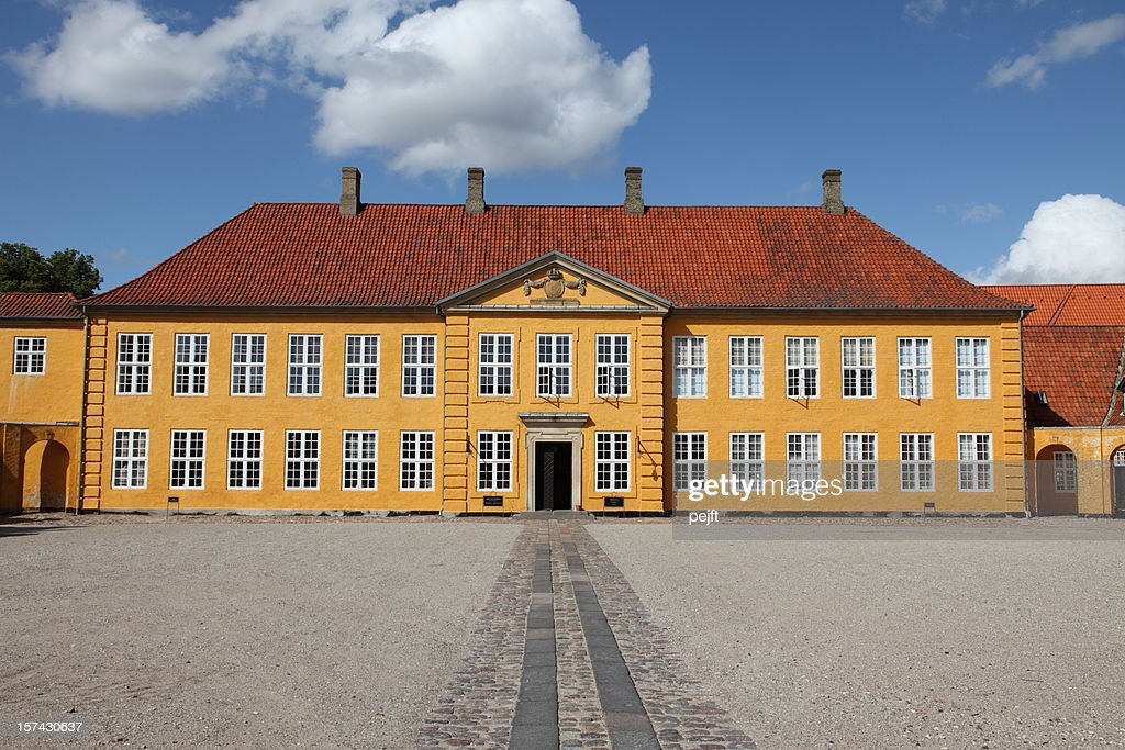 the Royal Palace, Roskilde - Denmark : Stock Photo