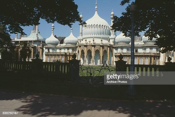 The Royal Pavilion Brighton England circa 1960