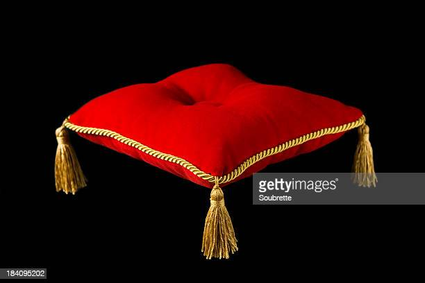 the royal pillow - tassel stock pictures, royalty-free photos & images