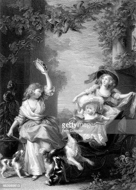 The Royal Princesses children of King George III 19th century
