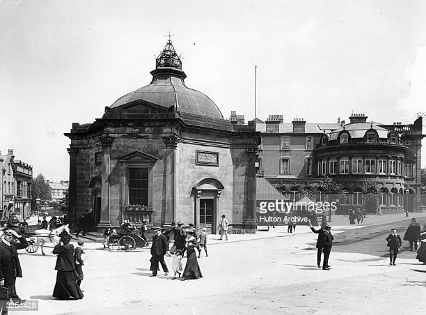 The Royal Pump Room and Old Sulphur Well at Harrogate, Yorkshire's popular spa town.