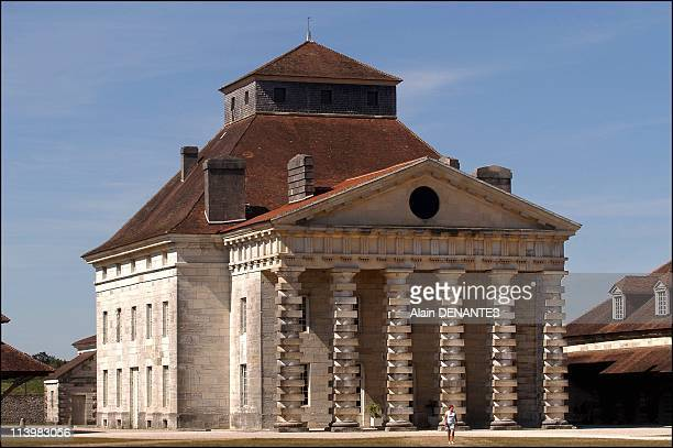 The Royal Saltworks of Arc-et-Senans inscribed on the list of UNESCO World Heritage In France In August, 2005-The Royal Saltworks of Arc-et-Senans in...