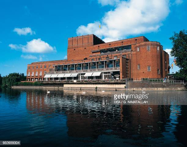 The Royal Shakespeare Theatre, seat of the Royal Shakespeare Company , Stratford-upon-Avon, England, United Kingdom.