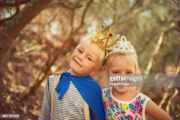 the royal siblings - princess stock pictures, royalty-free photos & images