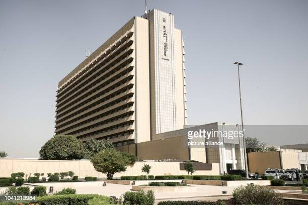 The Royal Tulip hotel in the Green Zone in Baghdad Iraq 22 September 2016 The central government buildings several embassies offices of international...