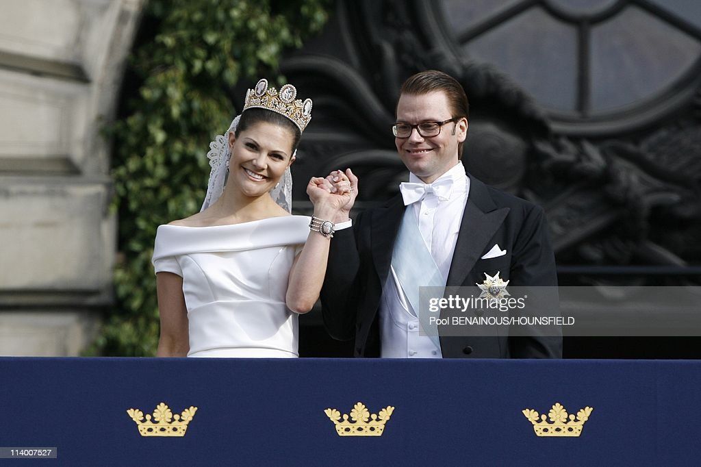 The Royal Wedding between HRH Princess Victoria and Daniel Westling In Stockholm, Sweden On June 19, 2010- : News Photo
