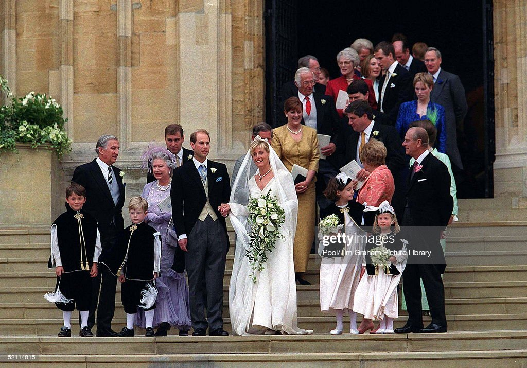 The Royal Wedding Of Prince Edward And Sophie Rhys Jones At St George S Chapel