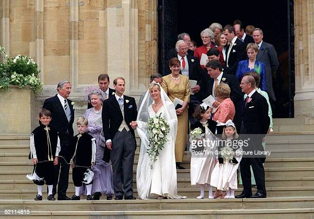 The Royal Wedding Of Prince Edward And Sophie Rhysjones At St George's Chapel Windsor