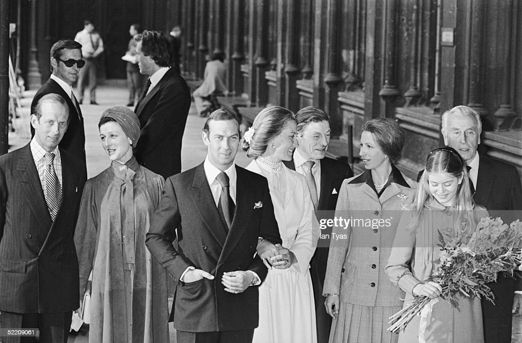 Prince Of Kent Wedding : News Photo