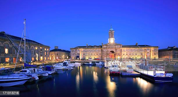the royal william yard - plymouth stock photos and pictures