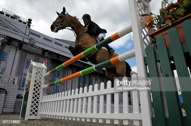 The Royal Windsor Horse Show Windsor Great Park UK The Land Rover Jumping Competition The Martin Collins Stakes