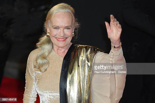 The Royal World Premiere of Skyfall Shirley Eaton on the red carpet at the latest in the series of James Bond 007 movies London 23 October 2012 Image...