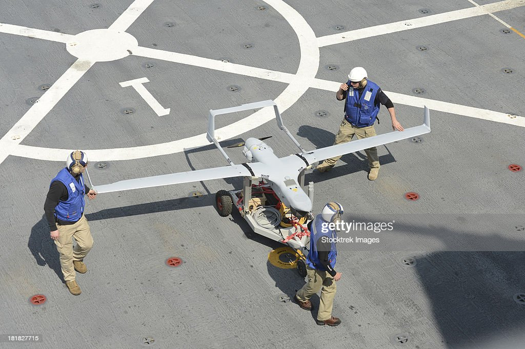 The RQ-21A Small Tactical Unmanned Air System. : Stock Photo