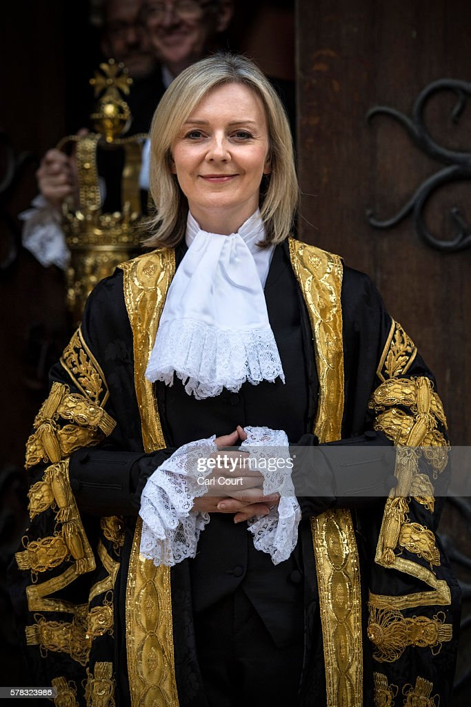 Liz Truss Is Sworn In As Lord High Chancellor Of Great Britain