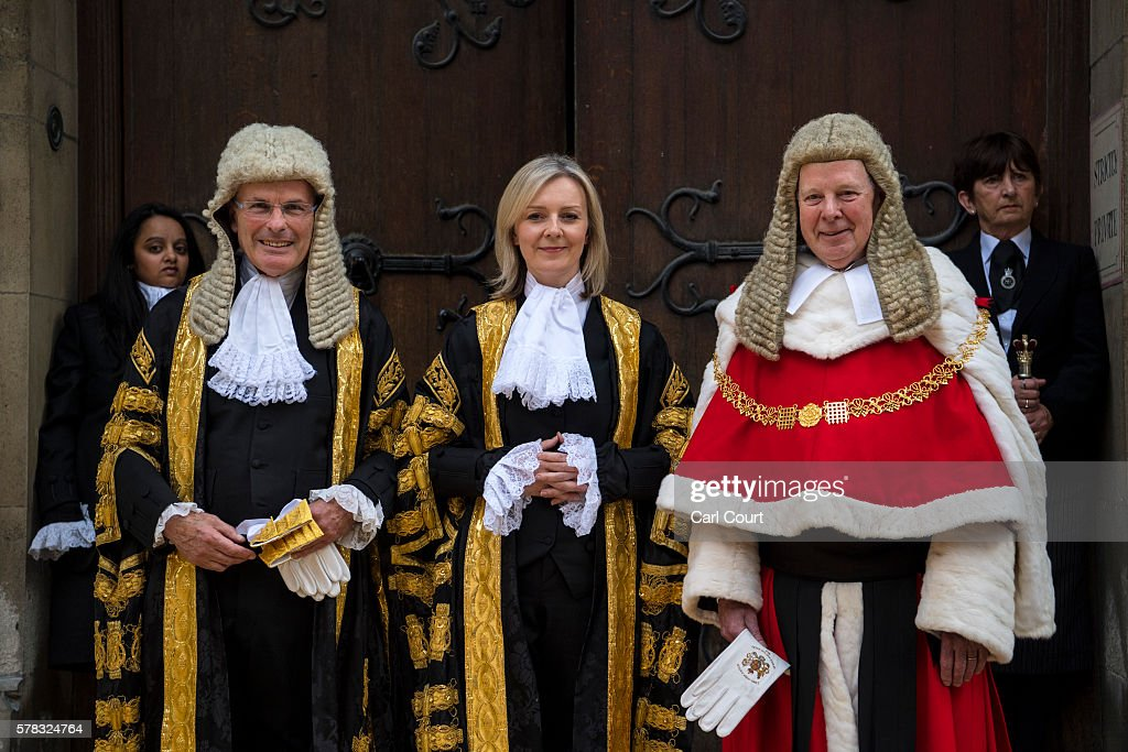 Liz Truss Is Sworn In As Lord High Chancellor Of Great Britain : News Photo