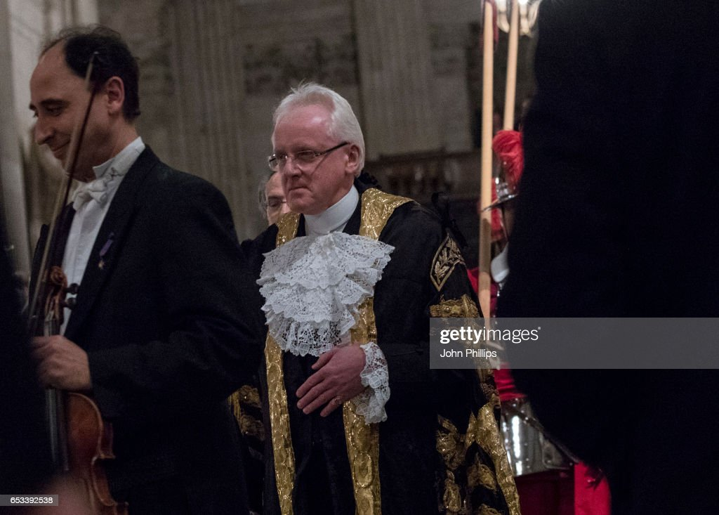 Lord Mayor Of London Makes Historic Debut With The London Symphony Orchestra In St Paul's Cathedral : News Photo
