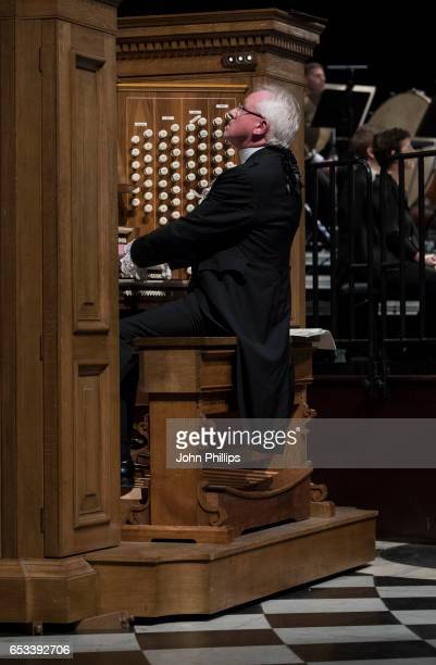 The Rt Hon The Lord Mayor Alderman Dr Andrew Parmley performs as organ soloist in SaintSaens' Organ Symphony with the London Symphony Orchestra...