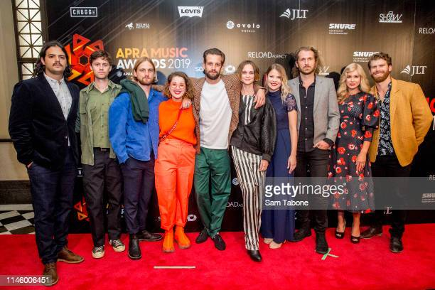 The Rubens attends the 2019 APRA Music Awards at Melbourne Town Hall on April 30 2019 in Melbourne Australia