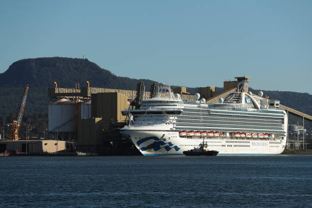 AUS: Ruby Princess Cruise Ship Docks In NSW Following Launch Of Criminal Investigation Over Coronavirus Spread