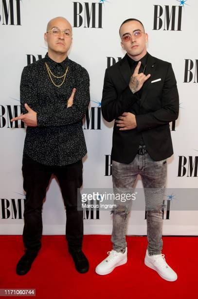 The Rudz Boyz Kevin Jimencz and Bryan Lezcano attend the 2019 BMI RB/HipHop Awards on August 29 2019 in Sandy Springs Georgia