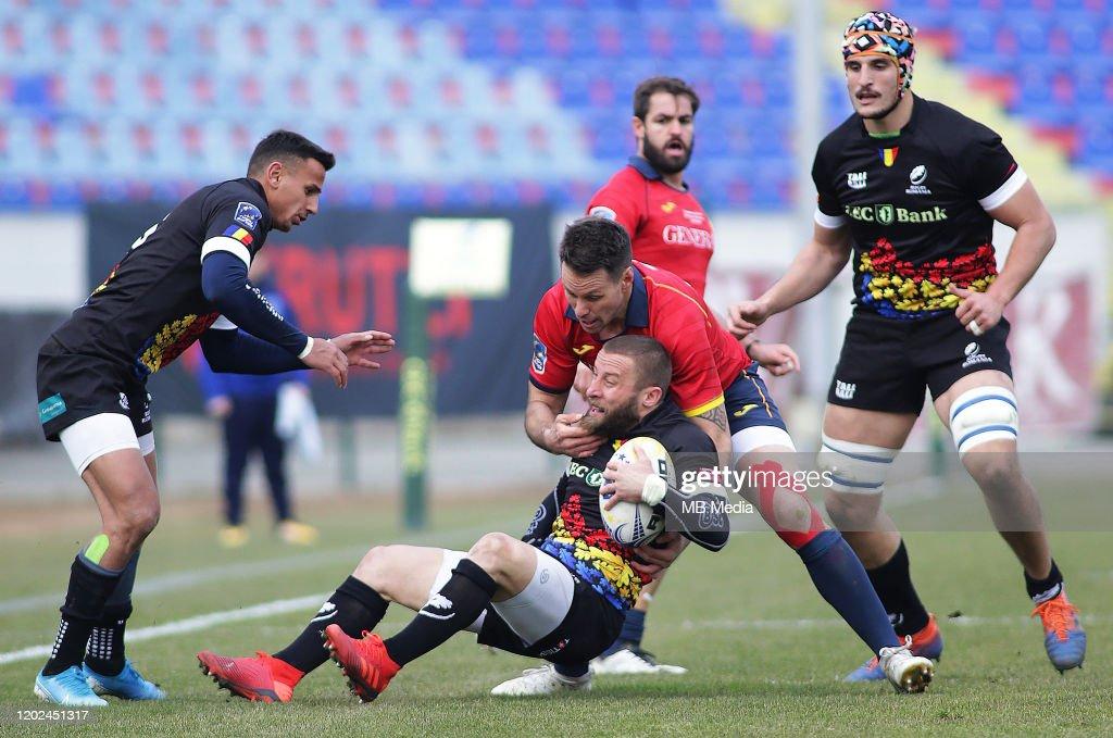 Romania v Spain - Europe Rugby Championship : News Photo