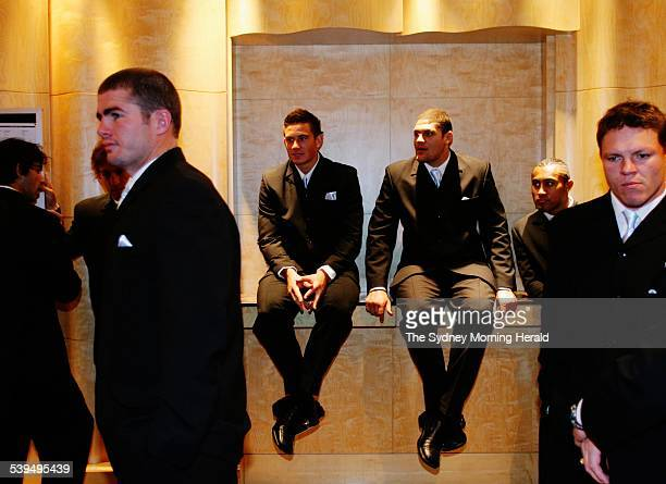 The Rugby League Grand Final Breakfast at the Westin Hotel in Sydney on 30 September 2004 The Sydney City Roosters and the Canterbury Bulldogs were...
