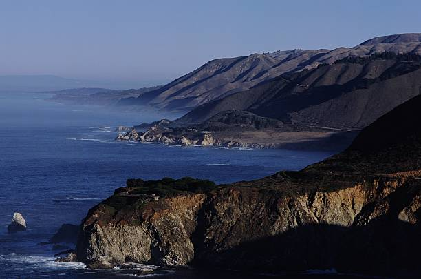 California's Rugged Coastline Near Big Sur