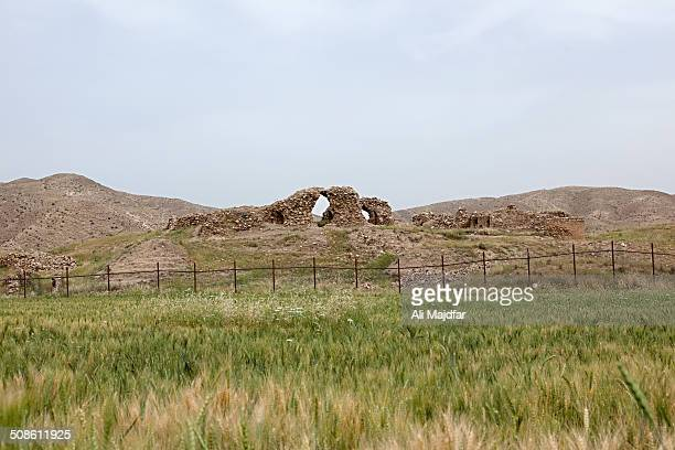The ruin belongs to an ancient city in late Sassanian era and is believed to be built on remnants of Elamite's Capital Madakto
