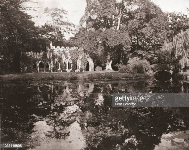 The Ruins at Frogmore Berkshire 1894 Gothic 'Ruin' built in 1793 in the grounds of Frogmore Gardens near Windsor Castle From Beautiful Britain views...