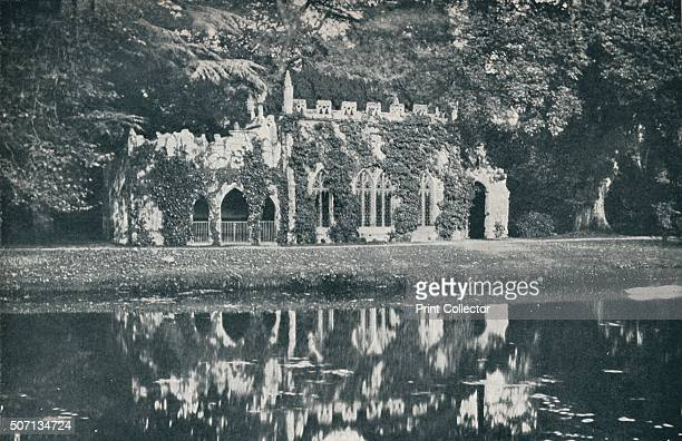 The Ruins at Frogmore' c1899 The Frogmore Estate private gardens within the grounds of the Home Park adjoining Windsor Castle It is the site of three...