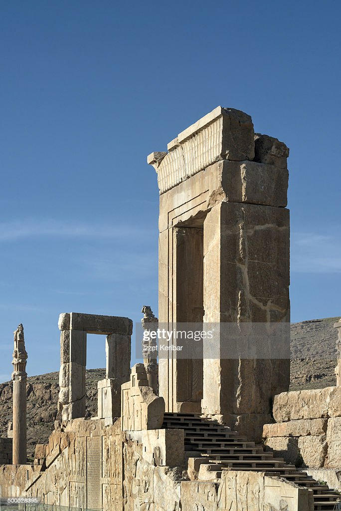 The Ruins Of Persepolis Shiraz Iran High Res Stock Photo Getty Images