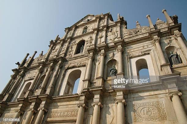 Die Ruinen von St. Paul @MACAU