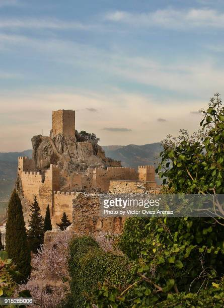 The ruins of the Moorish fortress of La Iruela in Cazorla, Jaen, Spain