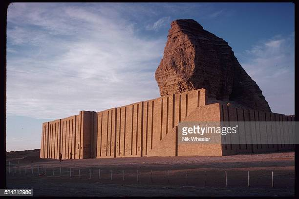 The ruins of the Ziggurat of Agar Guf which dates from the 14th century BC Iraq
