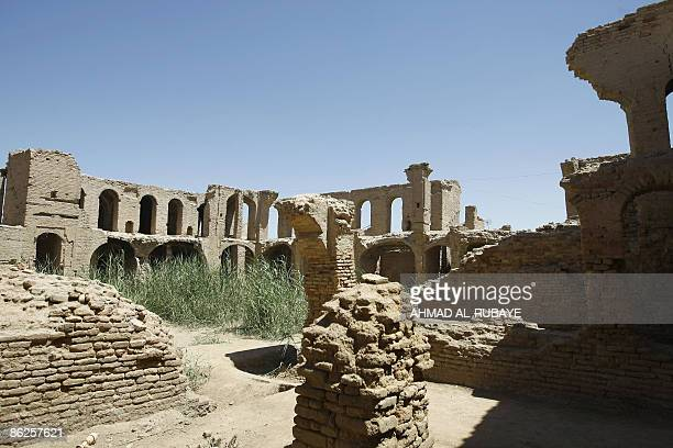 The ruins surrounding what was once the Jewish shrine of Ezekiel the prophet who followed the Judeans into the Babylonian exile in the 6th century BC...