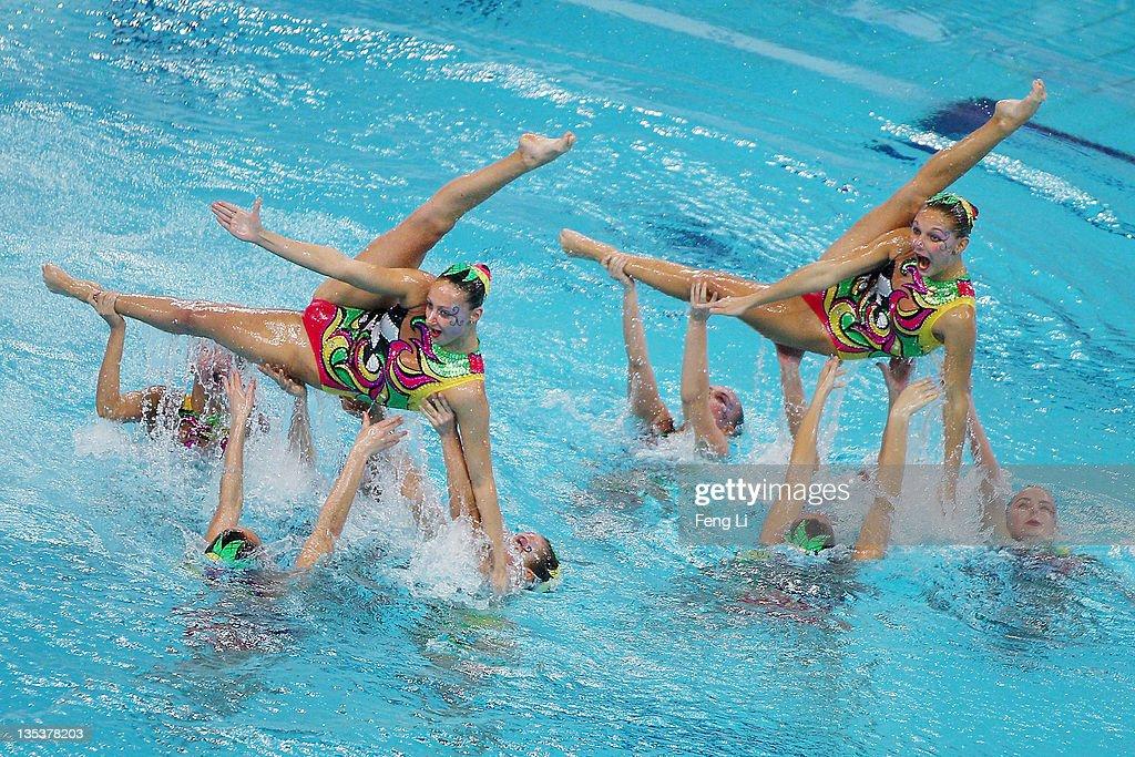 Afbeeldingsresultaat voor synchronised swimming