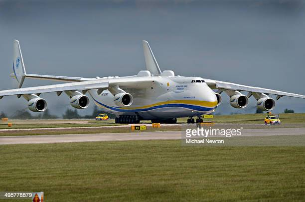 CONTENT] the Russian Antonov AN255 freighter capable of carrying loads up to 250 tonnes around the world Here it is having carried some oil rig...