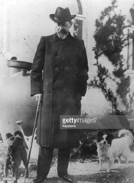 The Russian author Anton Chekhov