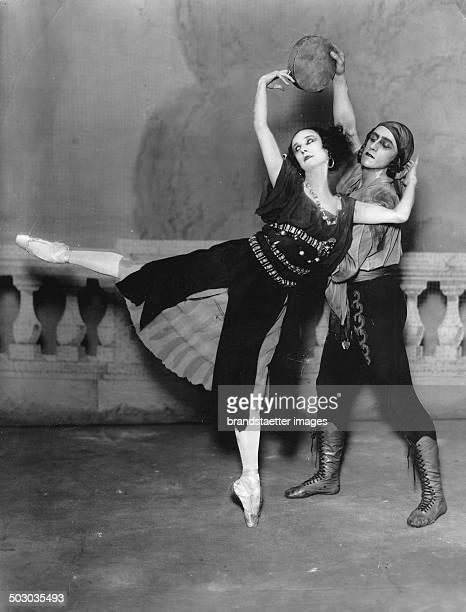 The Russian ballet dancer Anna Pavlova About 1925 Photograph