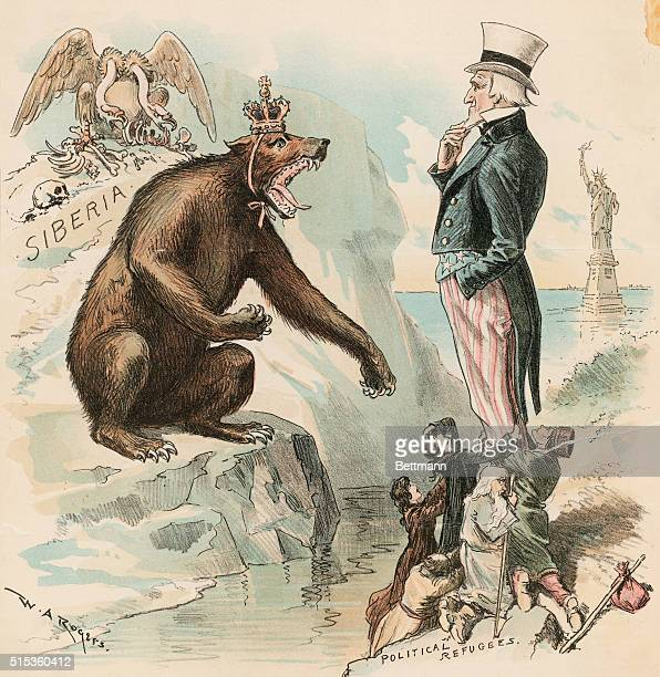 The Russian bear asks too much and Uncle Sam isn't willing to make any reasonable extradition treaty with Russia but he won't help send political...