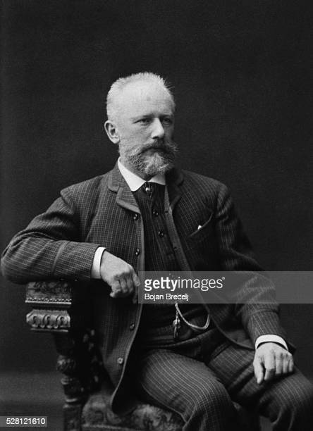 The Russian composer Tchaikovsky