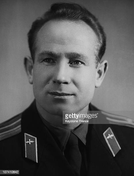 The Russian Cosmonaut Alexey Leonov In The Sixties