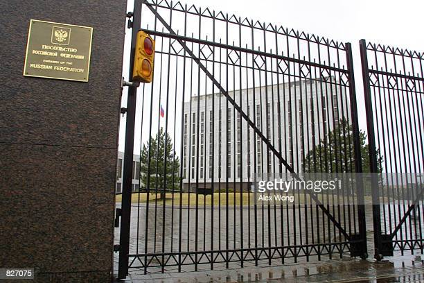 The Russian Embassy building is seen March 4 2001 in Washington D C According to news reports the United States built a secret tunnel under the the...